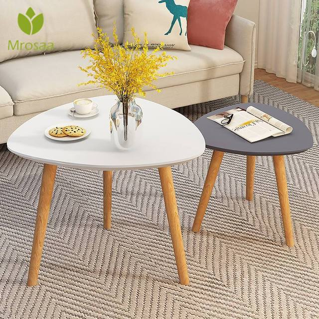 Wooden Triangle  Coffee Table  2