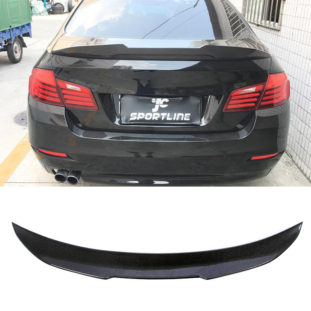 Rear Spoiler for BMW 5 Series F10 Base Sedan M Sport M5 F11 2010 - 2019 Carbon Fiber Trunk Lip Rear Spoiler Wing Lip Boot Lid