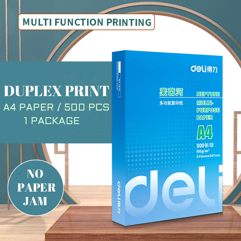 A4 Printing Paper Copy Paper 70g Wood Pulp 500 Sheets Of Single Packet Office Paper Student's Draft Paper Double-sided