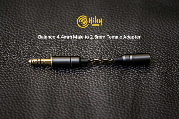 HiBy 4.4 مللي متر مقاومة محول ل سماعات-متوافق مع 4.4 مللي متر/2.5 مللي متر سماعة جاك R6PRO