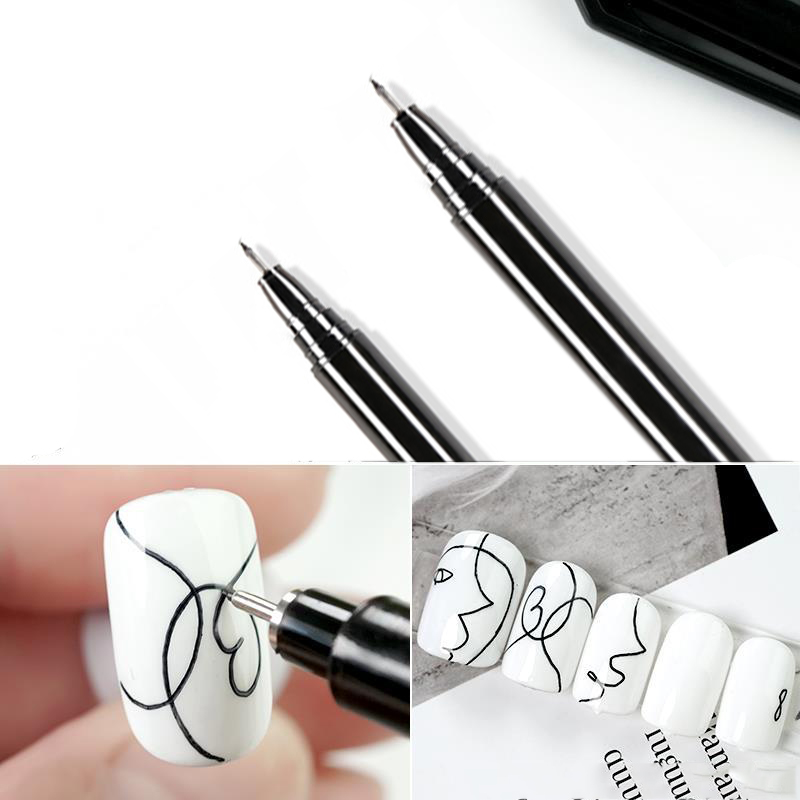 Brush Graffiti-Pen Painting-Liner Details Beauty-Tool Flower Nail-Art Drawing Waterproof