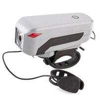 WEST RADFAHREN USB Ladung Fahrrad Licht Fahrrad LED-Lampe Elektrische Horn Radfahren Scheinwerfer Lenker Taschenlampe Bicicleta Fahrrad Lichter
