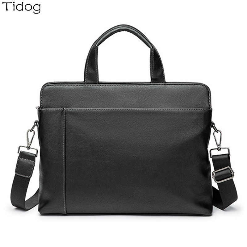 Tidog Korea Business Computer Handbag Horizontal Briefcase