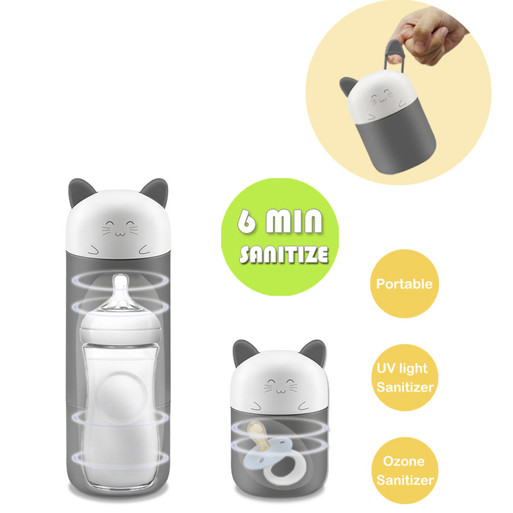 Portable Baby Disinfection Feeding Bottle Infant Milk Warmer Nipple Pacifier Sterilizer Adjustable Traveling Kid Nursing Product