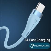 3a carregamento rápido usb typec micro carregador usb tipo c cabo para samsung s10 s9 cabo de dados para redmi nota 8 pro USB-C cabo cabo cabo