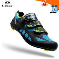 TIEBAO cycling shoes road carbon road bike shoes men racing sneakers adult professional athletic breathable self locking shoes