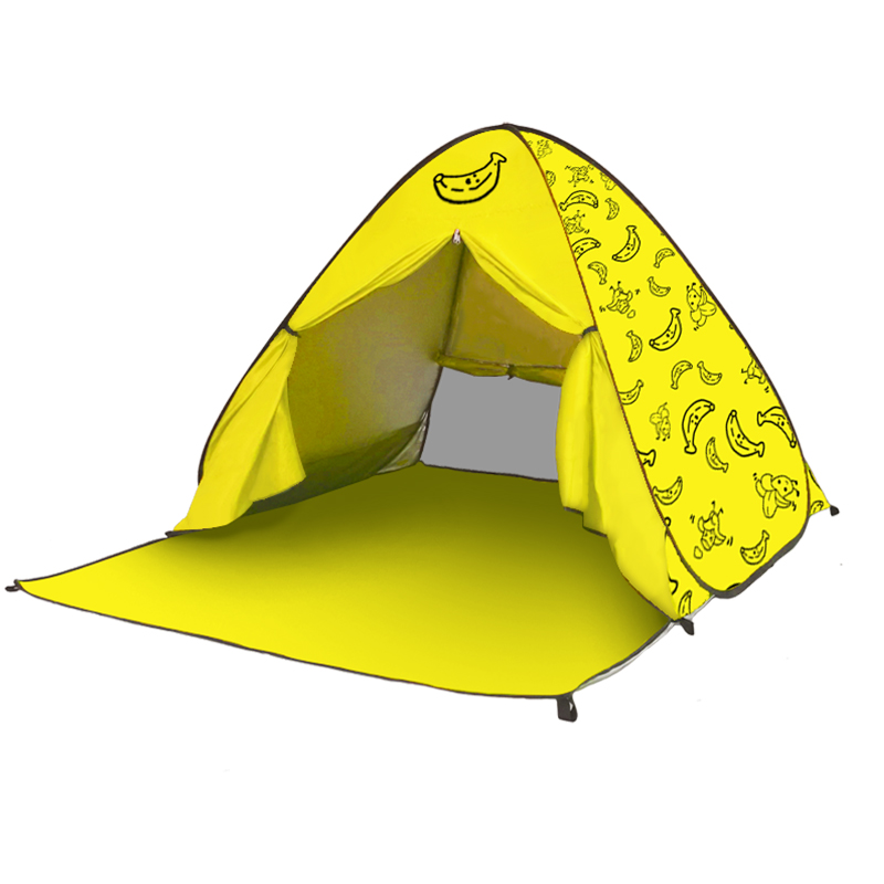 Beach Tents Picnic Camping Tents Sun Shelter, Aotomatic Pop Up Foldable Portable Indoor Kids Play Tents Outdoor Tents