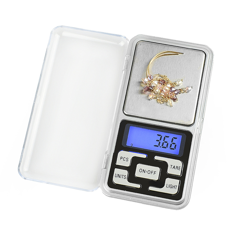 500g*0.01g Mini Scales Pocket Digital Scale Weight Pocket Electronic For Gold Sterling Silver Jewelry High Accuracy Balance Gram