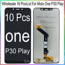 WholeSale 10 Pcs/lot for Moto One P30 Play XT1941-1 XT1941-3 X LCD Screen Display with Touch Digitizer Assembly XT1922
