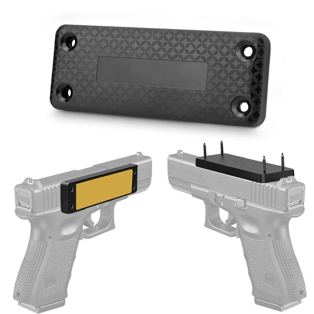 Magnetic Gun Mount & Holster For Vehicle And Home - HQ Rubber Coated 37.5 Lbs - Gun Magnet Firearm Accessories. Concealed Holder