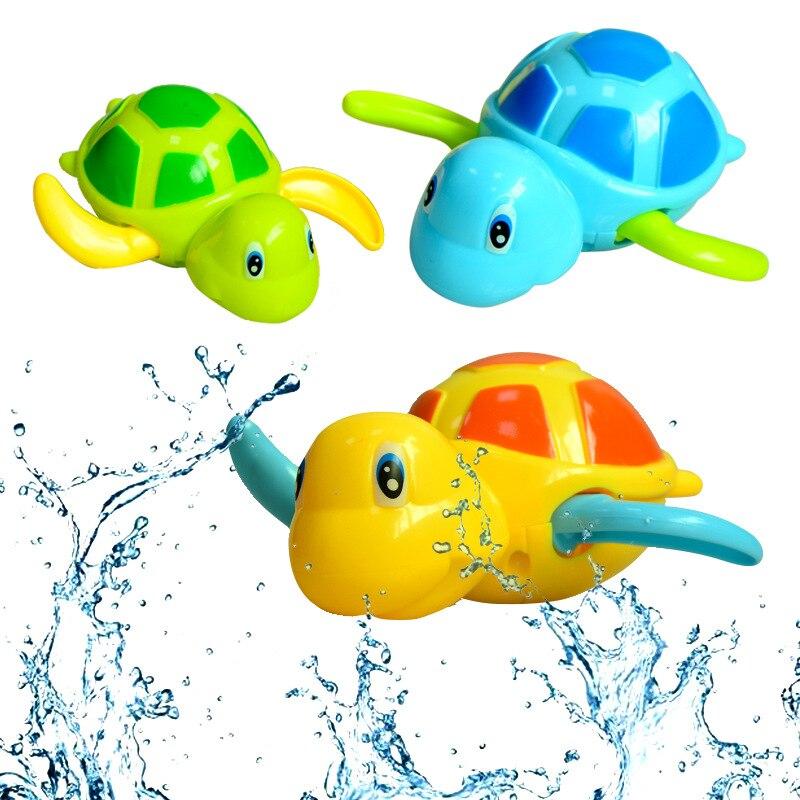 Children Bath Water Toys Winding Stroke Little Turtle Baby Bath Toy Amazon CHILDREN'S Toy