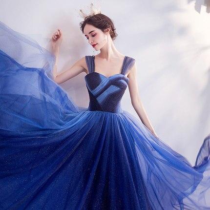 100%real galaxy sky blue long gown medieval dress Renaissance gown queen Victorian dress/Marie Antoinette/ Belle Ball
