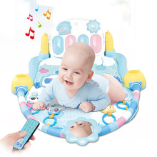 Remote Control Infants Electric Fitness Rack Music Piano Sleep-Aid Light Exercise jian shen chuang Rocking Chair Cradle Seat