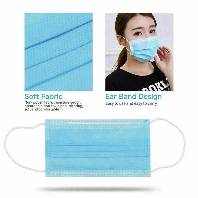 5Pcs 3 Layer Mask maska antywirusowa ffp3 mask for flu 4