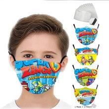 Moda crianças máscara jogo superzings reutilizável máscara lavável engraçado adulto boca máscara crianças meninos boca impressão tecido capa protetora