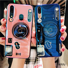 Camera Case For Samsung A3 A5 A7 A9 2017 2018 A90 A80 A70 A60 A50 A40 A30 A20 A10 Cover With Holder