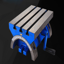 Adjustable Angle Table 12 Inch Milling Machine, Drilling Machine Table, Inclined