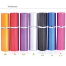 5ml Refillable Mini Perfume Spray Bottle Aluminum Atomizer Portable Travel Cosmetic Container