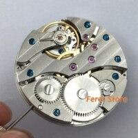 Horloge beweging ST36 17 Juwelen mechanische Azië 6497 Hand Kronkelende beweging fit voor heren horloge polshorloge mannen p236-in Reparatiemiddel & Kits van Horloges op