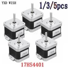 17HS4401 40mm Nema17 Stepper Motor 42 Motor Nema 17 Motor 42BYGH 1.7A (17HS4401) motor 4-lead For 3D Printer For CNC