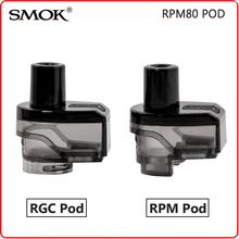 Oryginalny SMOK RPM80 strąki RPM80 Pro 5ML RPM RGC pusty wkład bez cewki dla RPM 80 elektroniczny papierosowy rozpylacz do waporyzatora parownik tanie tanio Tank Replacement SMOK RPM Pod Z tworzywa sztucznego SMOK RPM40 KIT Plastic