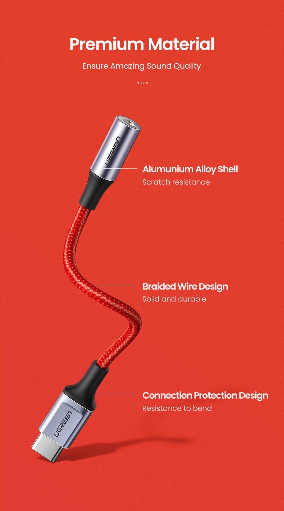 Ugreen Type C to 3.5mm Adapter Pakistan BrandTech.pk