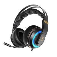 USB7.1 Headset Gamer 3D Surround Sound Gaming Kopfhörer Mit MIC Aktive Noise-Cancelling Mikrofon Led Für Computer/PC