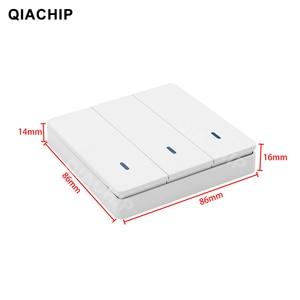 Image 5 - QACHIP 433 MHz AC 85V 110V 220V 1 CH รีโมทคอนโทรลไร้สายรีเลย์สวิทช์รีเลย์โมดูล LED แสงหลอดไฟ 433.92 MHz