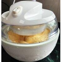 Automatic Fruit Ice Cream Machine Home IceCream Maker Yoghurt Dessert Maker 0.8L 7W Double Insulation Frozen Barrel A08A1