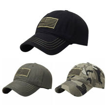 HOT Sale American Flag New Fashion  Baseball Cap Mesh Trucker Tactical Operator Army Camo Hat