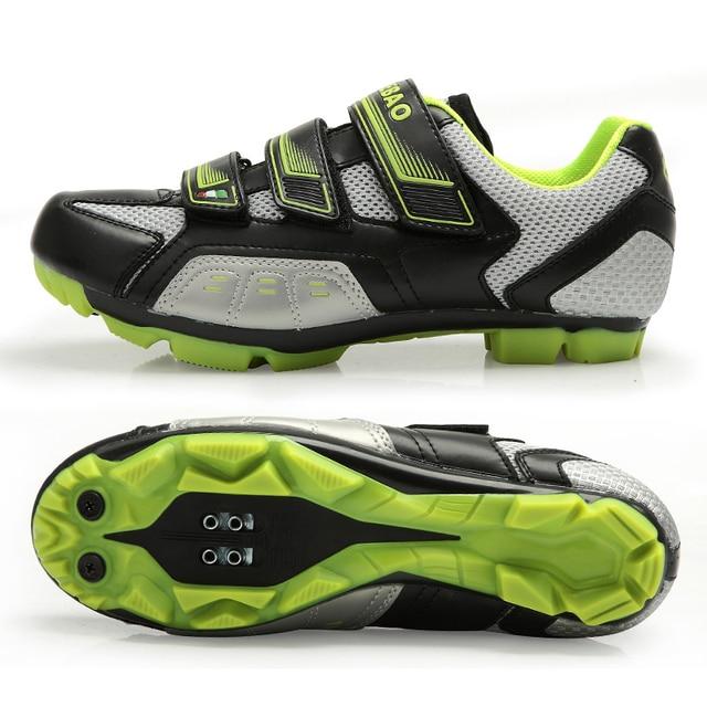 Apuramento! Tiebao das mulheres dos homens mtb sapatos de bicicleta sapatos de ciclismo de montanha auto-bloqueio botas de tornozelo alto triathlon sapatos de bicicleta EU38-47 5