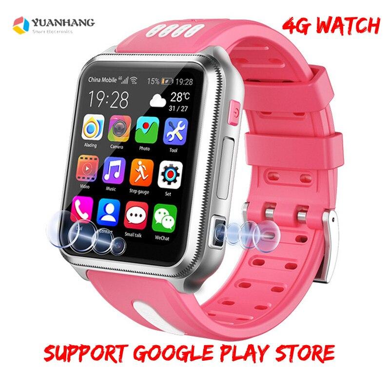 Smart 4G Fernbedienung Kamera GPS WI FI Tracer Finder Kid Studenten Google Spielen Smartwatch Video Voice Recorder Anruf Monitor Telefon uhr