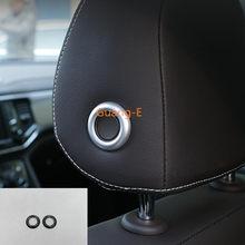 Voor VW Teramont Sharan 2016-2019 & Bora CC Sagitar 2019 & T-Roc 2018 Auto seat hoofd hoofdsteun kussen aanpassing knop cover trim-
