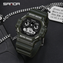 Outdoor Extreme Sports Digital Watch Men 50meter Waterproof Sport Army Military Multifunction Shockproof Electronic