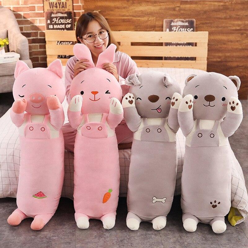 Kawaii Dolls Stuffed Animals Plush Toys for Girls Children Boys Toys Plush Sleeping Pillow Animal Stuffed Animals XC076