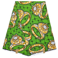 Cera suave  nigeriano grande africano  cera de ankara estampada  100%  tela de algodón  tela batik para coser