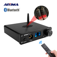 AIYIMA T5 6K4 Tube Preamp MC33078 Bluetooth Preamplifier HIFI OLED with Remote Control Power Supply Sound Amplifier Home Theater
