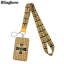 CB404 национальный флаг ремешок брелок для ключей шея ремешок удостоверение личности карта значок держатель сотовый телефон подвеска веревка брелок