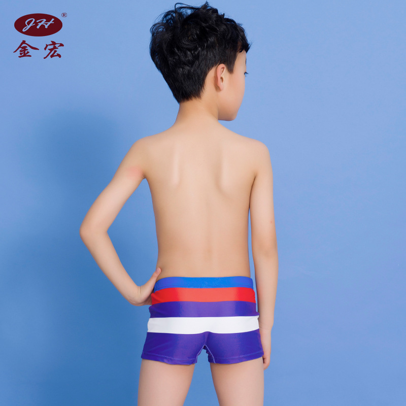 JH Brand 2019 New Products BOY'S Swimming Trunks Boy Fashion Joint Students Swimming Trunks