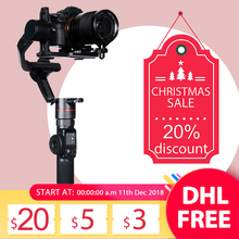 FeiyuTech AK2000 AK2000s 3 Axis Camera Stabilizer Gimbal for DSLRs Sony Canon 5D Panasonic GH5 Nikon 2.8 kg Payload