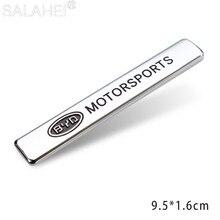 1x Car Body Emblem Badge Side Fender Rear Trunk Sticker Decals For BYD I3 S7 G3 F3 S6 F0 E5 Car Accessories Car Stickers