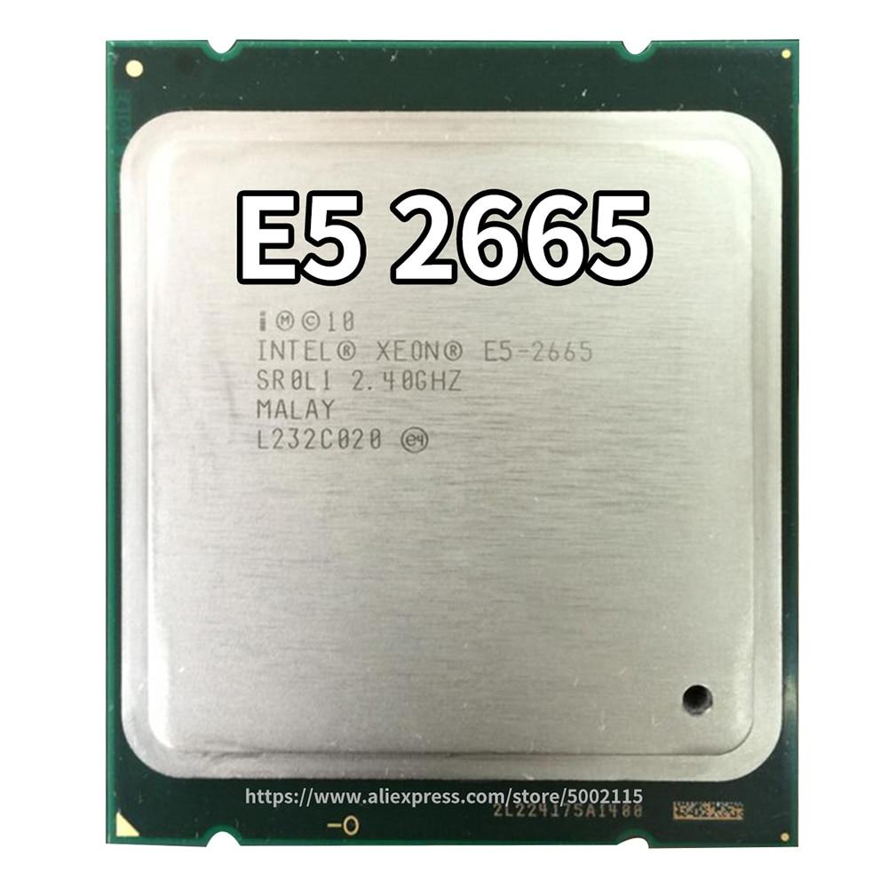 Intel Xeon 8-Core Processor E5-2665 20M Cache, 2.40 GHz, 8.00 GT/s SR0L1 CPU
