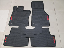 цена на special latex non slip carpets no odor waterproof anti skip rubber car floor mats for VW Golf 7
