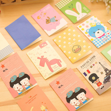 1pcs/lot Cute Cartoon Handmade Mini Diary Notebook Stationery student supplies Soft Face Copy