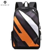 Backpack Men USB Charging Waterproof Laptop Backpack Teenage College School Bags Men And Women Business Travel Backpack Nylon