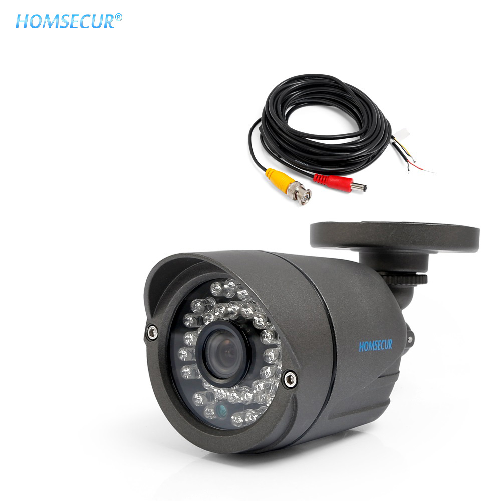 HOMSECUR 800TVLine Waterproof IP67 CMOS Analog CCTV Camera IR Cut Filter With Auto Switch For HDK Series Video Door Intercom