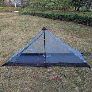Image 4 - 340 grams 3 seasons T doors design strut corner Ultra light  outdoor camping tent fit most pyramid tent
