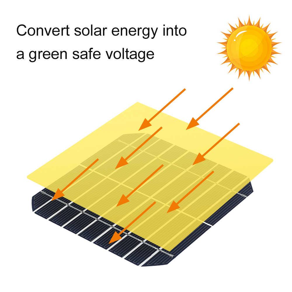 80W Di Động Năng Lượng Mặt Trời Gấp Các Tế Bào Năng Lượng Mặt Trời Sạc Ốp Ngoài Trời Bảng Điều Khiển Năng Lượng Mặt Trời Sạc 2 Cổng USB Cao Cấp