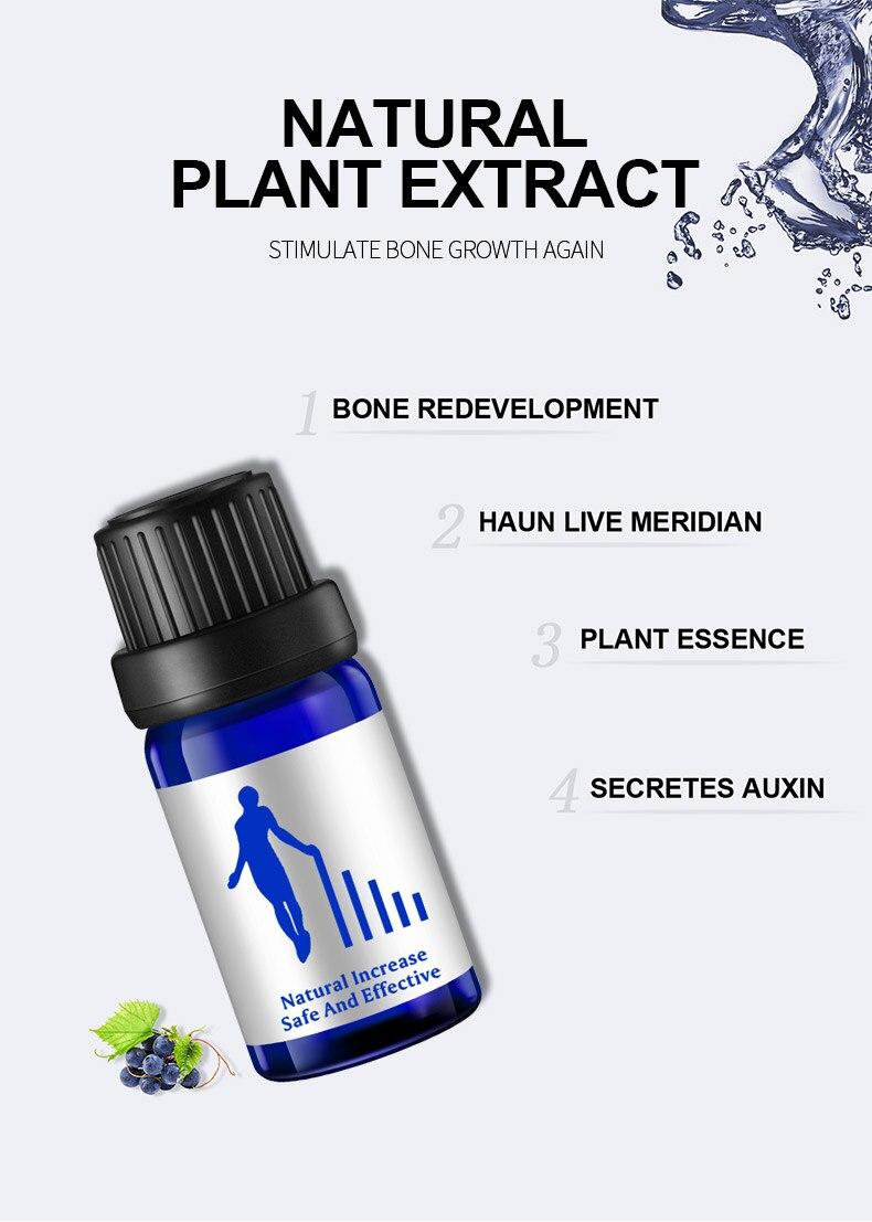 Эфирное масло для массажа ног, растительное масло на травах, для улучшения роста и ухода за телом