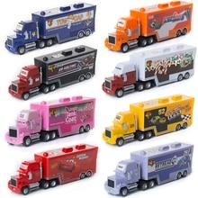 Disney Pixar Cars 2 3 Toys Lightning McQueen Jackson Storm Mack Uncle Truck 1:55 Diecast Model Car Toy Children Birthday Gift